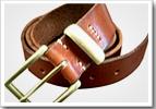オリジナルベルト 革