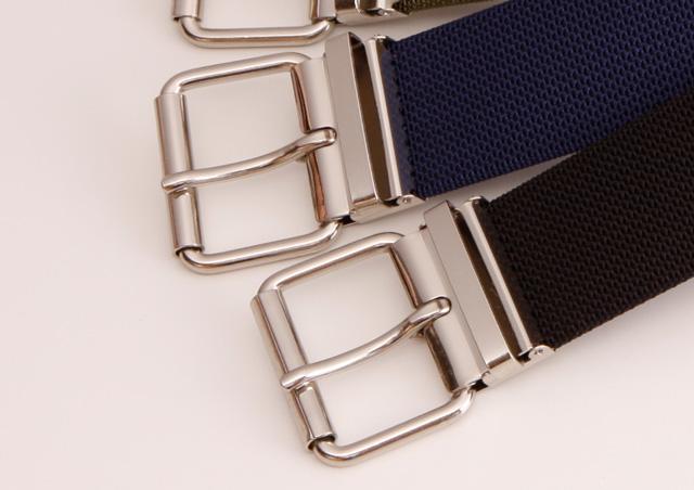 WORKBELT 50ミリ幅 ナイロン パイプ付き極太シングルピンベルト 選べる5色 日本製 自社生産
