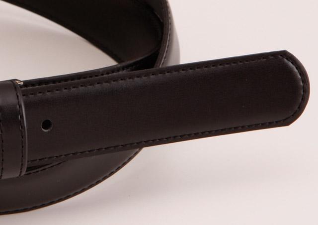 27ミリ幅 クラリーノフェザー仕上げ 学生用ベルト ベルト 日本製 自社生産