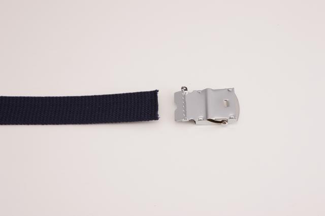 32ミリ幅 定番のコットン GI ガチャベルト 布テープベルト 選べる9色 ベルト 日本製 自社生産