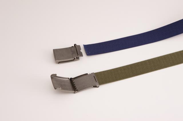 32ミリ幅 コットンストーンウォッシュ ラギットバックルベルト 選べる5色 ベルト 日本製 自社生産