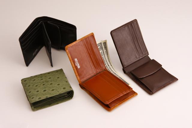 Santa Barbara Polo&Racquet Club  高級牛革使用 二つ折財布