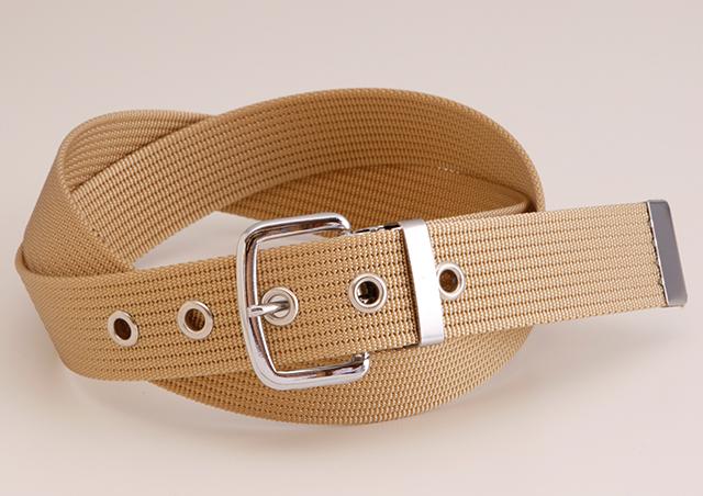 WORKBELT 32ミリ幅 ナイロン シングルピンベルト(コール織り) 選べる7色 日本製 自社生産