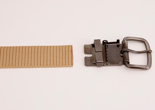 WORKBELT 32ミリ幅 ナイロン シングルピンベルト(平織り) 選べる7色 日本製 自社生産