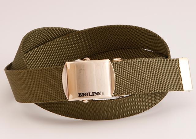 WORKBELT 32ミリ幅 ナイロン ローラーバックルベルト BIGLINE 選べる7色 日本製