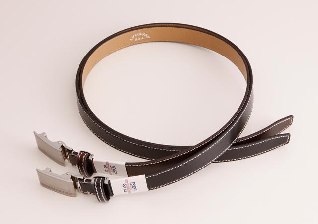 30ミリ幅 LIFEGUARD フィットバックル レザーベルト LG3002 牛革 本革