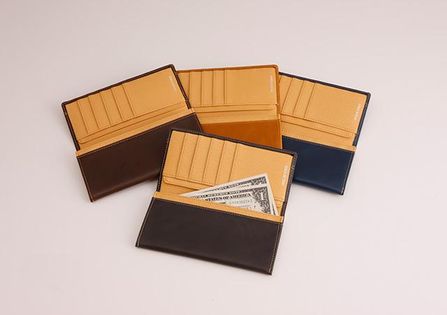 JACQUES POIRIER (ジャックポワリエ) 高級牛革 長財布