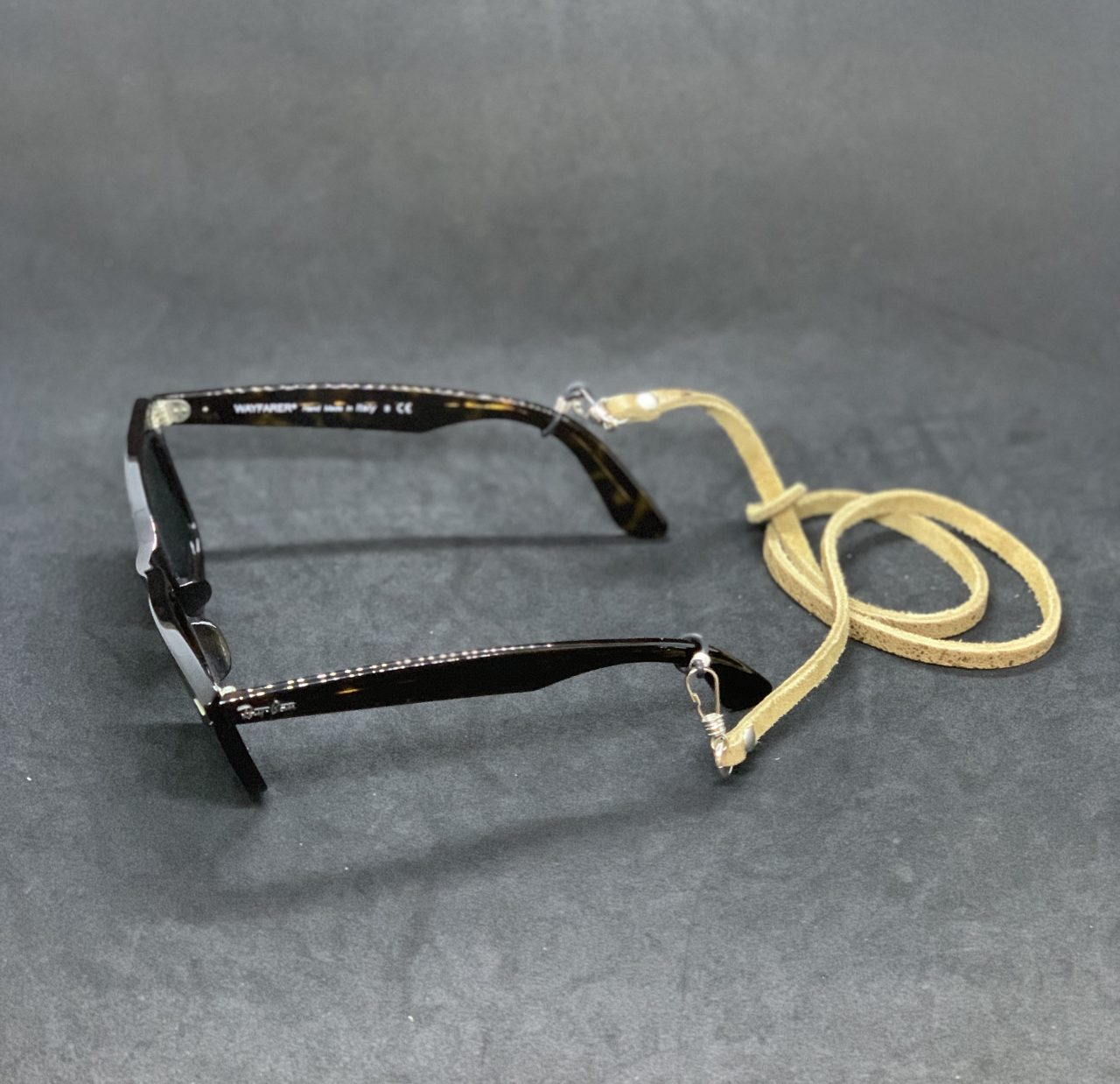 本革 マスクストラップ マスクネックストラップ  グラスコード 眼鏡チェーン