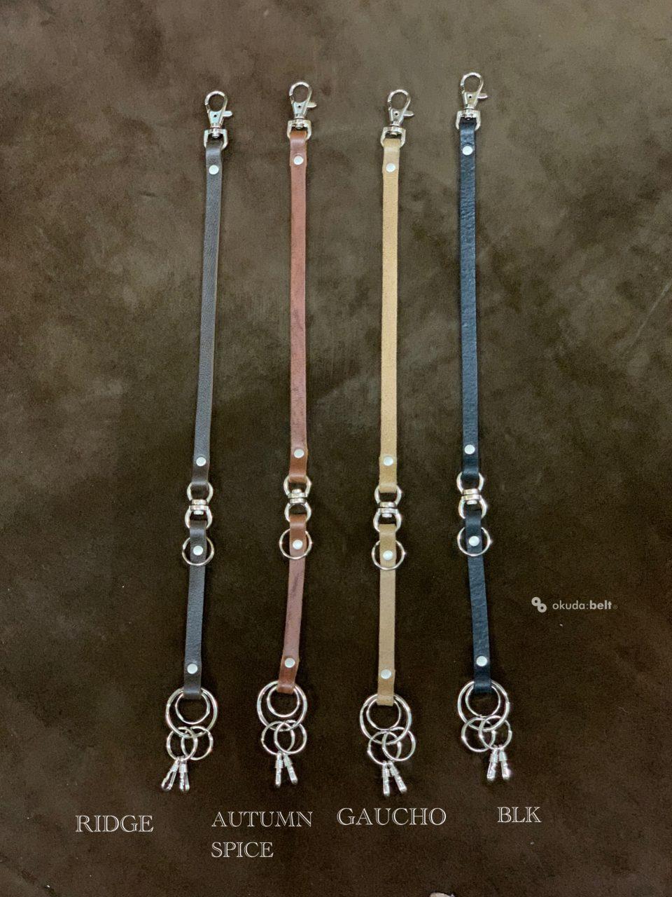 本革 キーホルダー キーリング キーチェーン ウォレットコード ウォレットチェーン バッグチャーム kudu 日本製